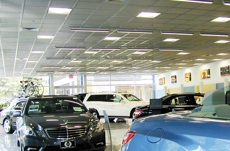 SQUARELINE® Metal Ceiling Tiles